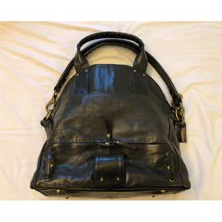 CORNELIAN TAURUS JAPAN - BLACK COW LEATHER BAG