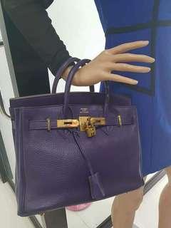 Hermes Berkin 30cm Togo Leather