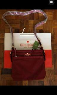 Sling kate spade with paper bag