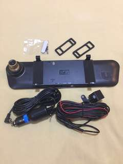 Dashcamera full hd front view and rear view