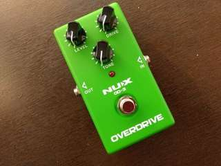 Overdrive - guitar pedal Cebuph
