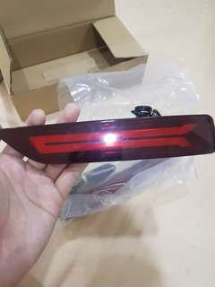 Rear LED bumper reflector Honda crv/hrv/City