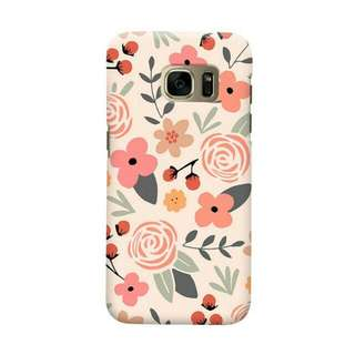 Elegant Botanical Samsung Galaxy S7 Edge Custom Hard Case