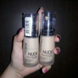 Catrice nude illusion soft focus effect foundation