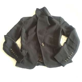 Zara woman size S blazer coat made in morocco #fashion80