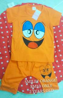 Kids T-Shirt Set (Smiley)