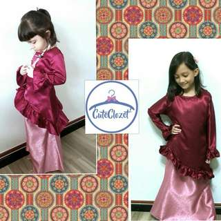 🌷ASSYMEYRICAL KURUNG🌷 #baju kurung #peplum #baju #girls children #kids #kurong #muslimah #cuteclozet # ladies #hari raya #raya #lebaran