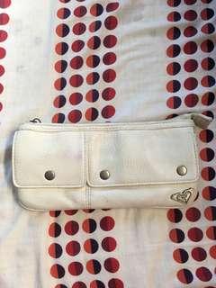 Roxy white wallet