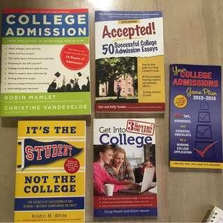 College Admissions books