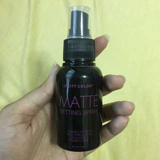 City Color Setting Spray Matte