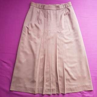 Chestnut Brown A-Line Skirt