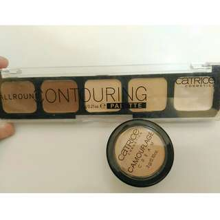 (Take all!!) Catrice Contour & Concealer