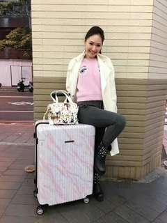 Centurion H05 粉紅雲石紋《現貨》29寸行李箱