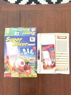 Retro vintage super slicer