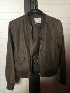 Army bomber jacket by Bershka