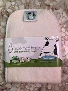 Moo moo kow hemp day insert