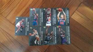 NBA Upper DECK 1993-1994  Season Leaders 籃球卡