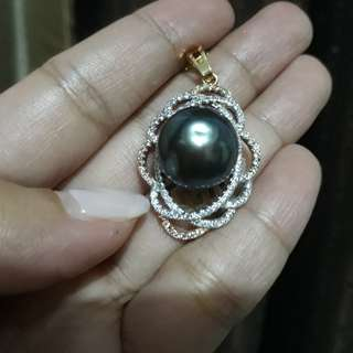 Pendant authentic south sea pearl