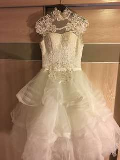 Vintage wedding gown 古著婚紗