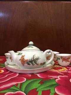 Vintage Porcelain Tea Set