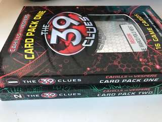 The 39 Clues Card Packs