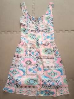Printed summery dress