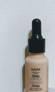 NYX Total Control Drop Foundation (medium olive)