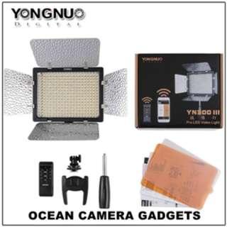 Yongnuo YN300 III YN 300 LED Light video recording lights studio photobooth lighting
