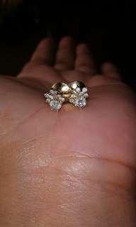 Real Diamond 14k yellow gold
