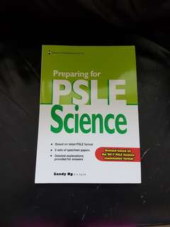Preparing for PSLE Science Practice Papers