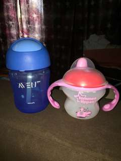 Tommee Tippee Sippy Cup & Avent Straw