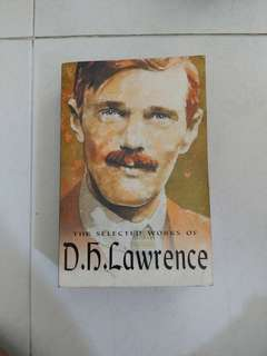 DH Lawrence selected works