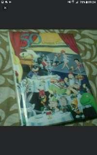 Art And Design Book 50 Greatest Cartoons  Hardcover     Pickup HOUGANG Buangkok Mrt