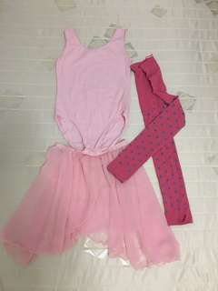 Ballet dress , whole set