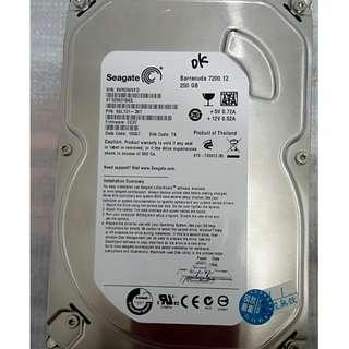 Seagate 250G 3.5吋硬碟