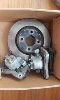 Mitsubishi Colt Plus Turbo Original Brake Kit