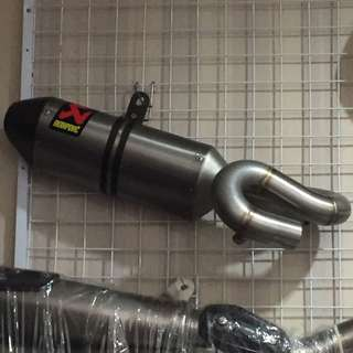 Akrapovic slip on