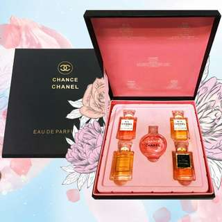 Chanel 5in1 Miniature Parfum Set