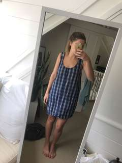 Super cute overall dress
