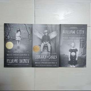 Miss Peregrine's Home for Peculiar Children/Hollow City/Library of Souls.