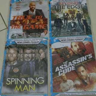 Kaset DVD film action