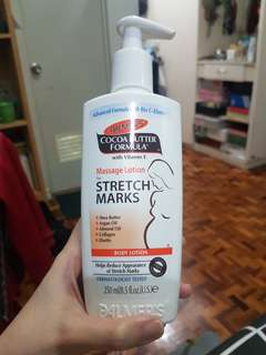 Used once! Palmer's Massage Lotion for Stretch Marks