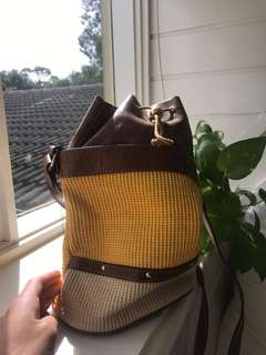 Vintage Italian leather bag