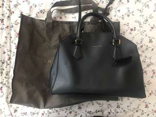 Charles and Keith structured handbag