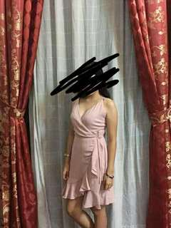 Formal dress (pink/nude)