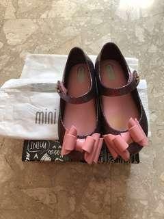 Mini Melissa Ultragirl Sweet I Pink Glitter USA10