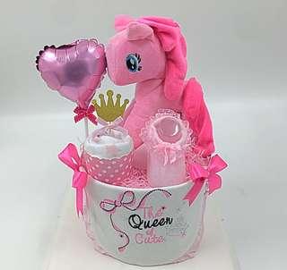 Baby Diaper Cake - My Little Pony