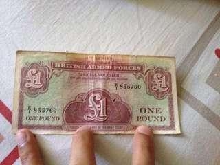 British note 1962