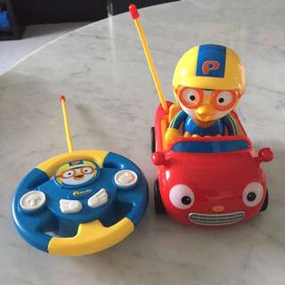 $13 Pororo Remote Control Toy Car
