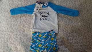Boy Swim Suit 3-6months BNWT